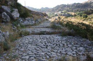 ruta de la calzada romana en cadiz